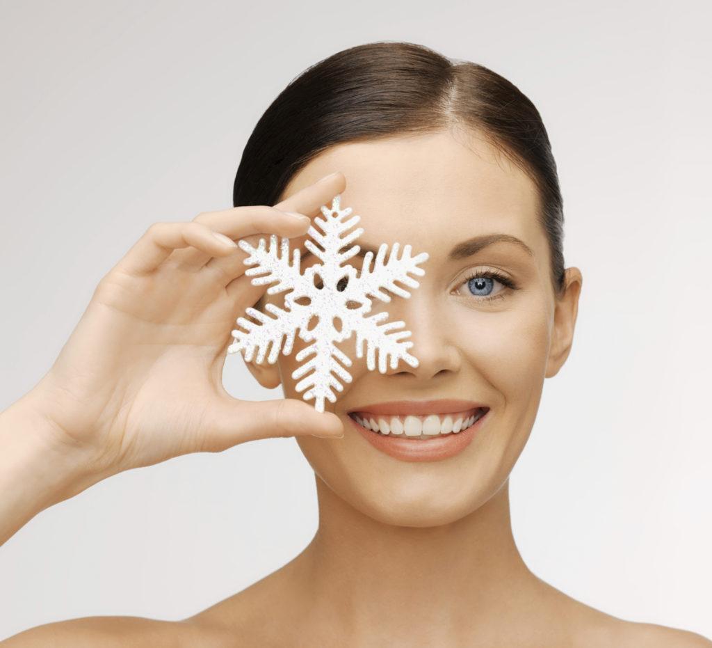 Come curare la pelle del viso in inverno