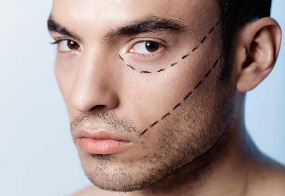 Trattamenti di ringiovanimento viso per uomo