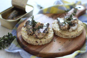 sardine ed erbe aromatiche
